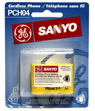 2 PCS SANYO PCH04 CORDLESS PHONE BATTERY PCH04 GES-PCH04 Ni-Cd BATTERIES