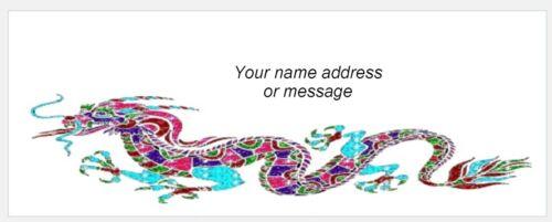 Mailing Labels Dragon Address Labels