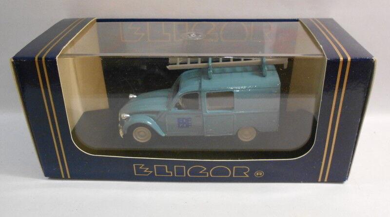 Eligor 1 43 Scale Diecast Model 1332 CITROEN CITROEN CITROEN 3 CV 'EDF-GDF' Blau    Verrückte Preis  a1933f