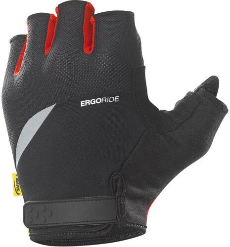Kurzfingerhandschuh Mavic HC Glove schwarz rot für lange Ausfahrten