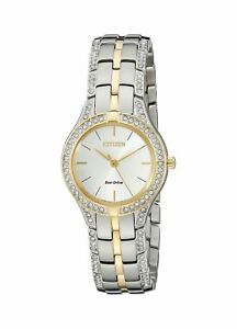 New Citizen Women's FE2064-52A Dress Analog Display Two Tone Watch New