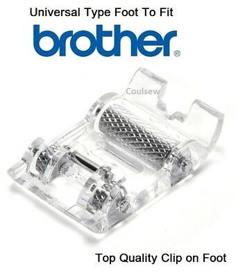 FOR BROTHER NEW HOME JANOME KENMORE  ROLLER FOOT Velvet