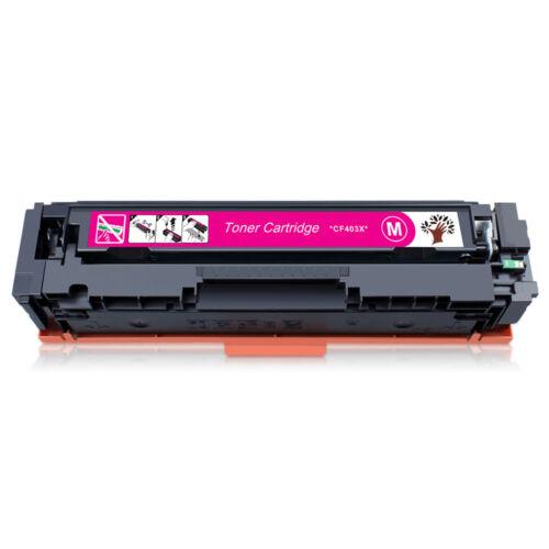 CF400X-CF403X 201X Toner Cartridge For HP Color Laser Jet Pro M252dw M277dw Lot