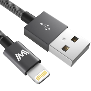 0-5M-USB-Lightning-Ladekabel-Schnellladekabel-fuer-Apple-iPad-iPhone-7-8-X-11