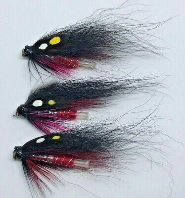 10cm Hook//tube Trout Salmon Steelhead Pike Fly Fishing S6G9 Saltw Flies Str K2V8