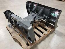 New 48 Mini Skid Steer Snow Plow Blade Attachment Bobcat Mt52 Mt55 Mt85 Mt100