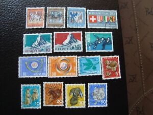 Switzerland-Stamp-Yvert-and-Tellier-N-749-A-763-Obl-A2-Stamp-Switzerland-A