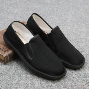 New-Mens-round-toe-slip-on-casual-soft-sole-breathable-shoes-driving-loafer-Chic