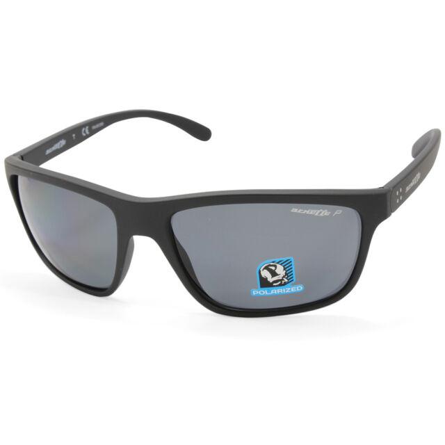 Arnette Mens Booger Iridium Rectangular Sunglasses MATTE BLACK 61 mm 0AN4234