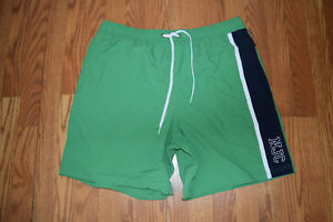 65248c9559 NEW Mens NAUTICA Green Navy Swim Shorts Trunks Swimsuit Size XXL $60 ...