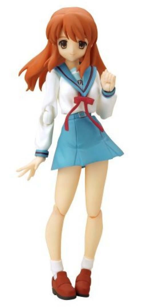 NEW figma006 The Melancholy of SuzumiyaHaruhi Mikuru Asahina School Uniform ver.