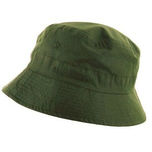 a857359384b11 ARMY OLIVE BUCKET HAT COTTON Mens sizes hiking sun cap travel ...