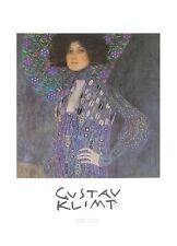 Gustav Klimt Emilie Flöge Poster Kunstdruck Bild 70x50cm - Kostenloser Versand