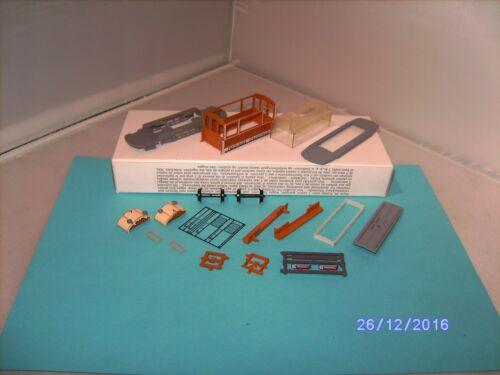 stand modelo automotor Friburgo abierta Ho 10014 kit sin pantógrafo