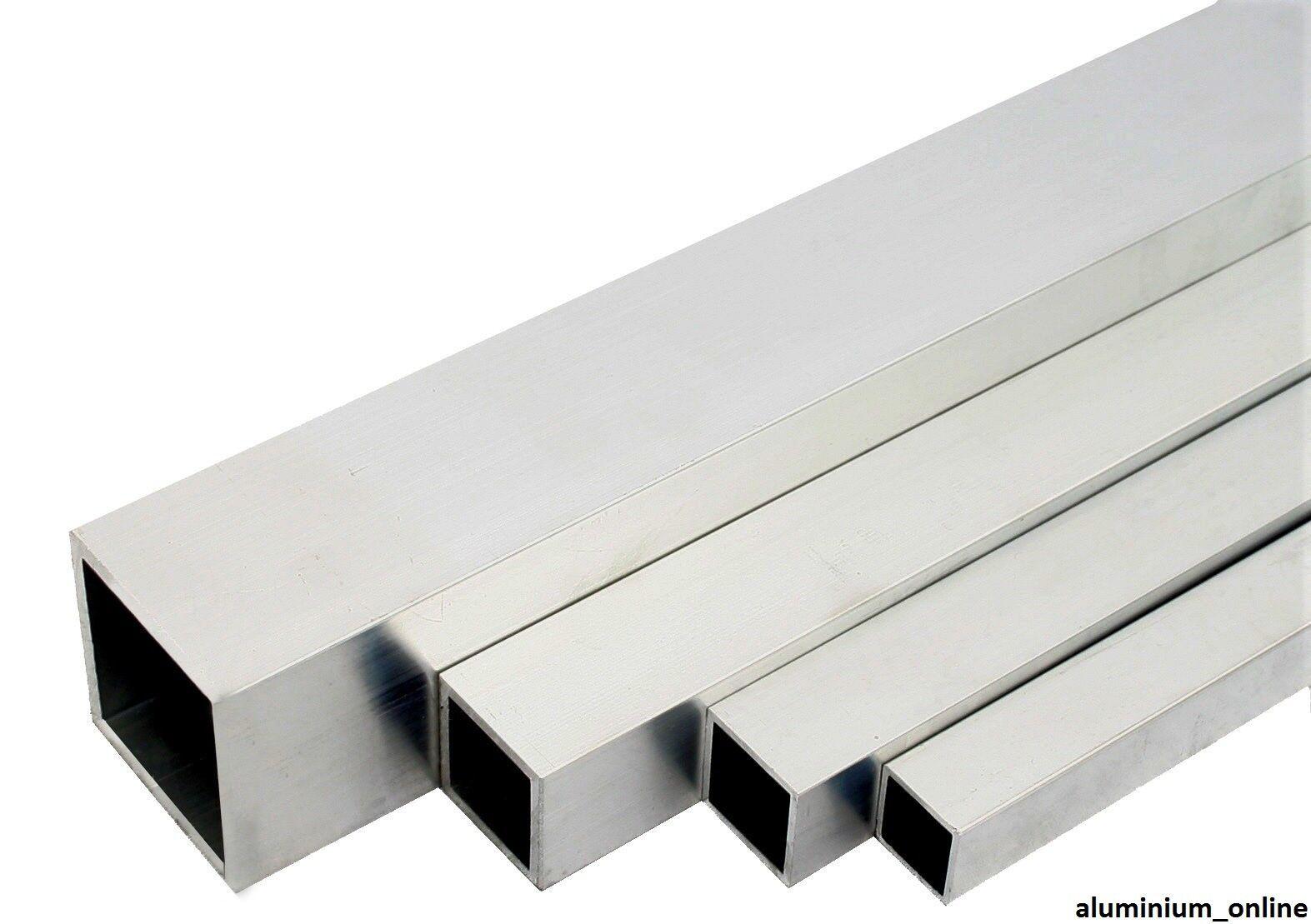 """ALUMINIUM SQUARE BAR 1.1//4/"""" x 1.1//4/"""" x 250mm Long"""