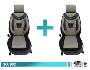 Opel Meriva B MAß Schonbezüge Sitzbezüge ab Bj.2010  Fahrer /& Beifahrer 902