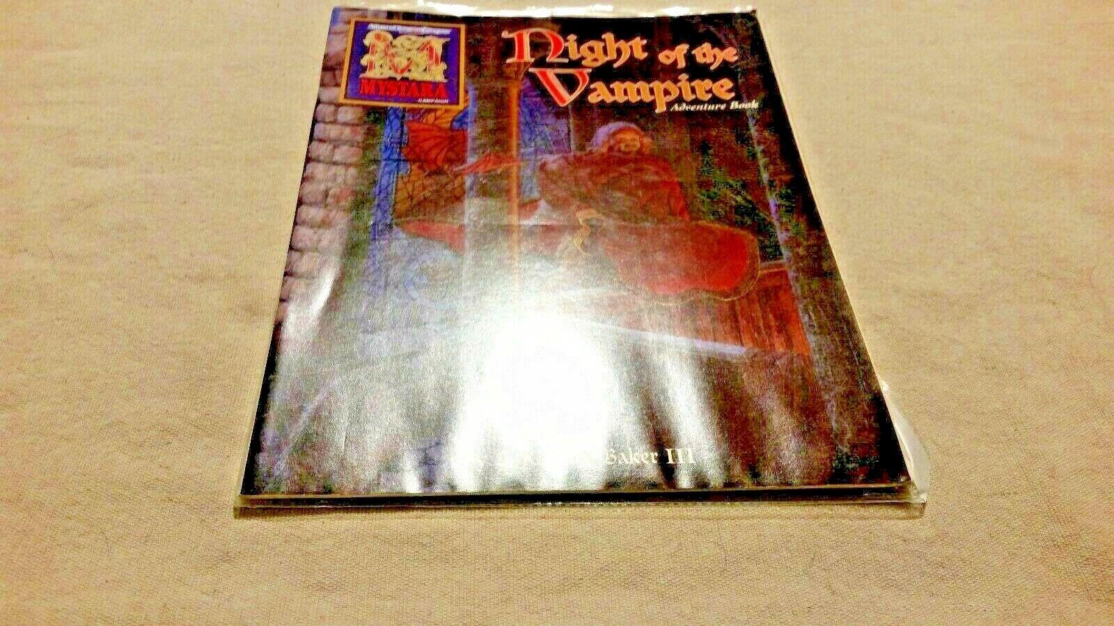 Mystara campaing Night of the Vampire Advanced Dungeons & dragons