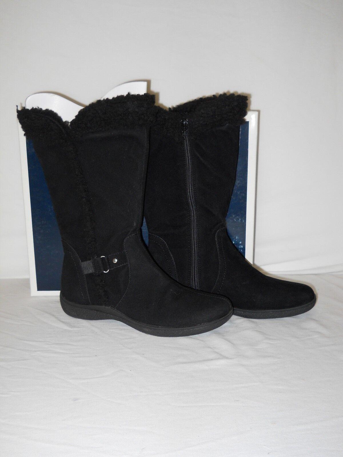 Karen Scott Nuevos Nuevos Nuevos Zapatos botas de mujer Gaby Negro 9.5 M Nuevo Con Caja  alto descuento