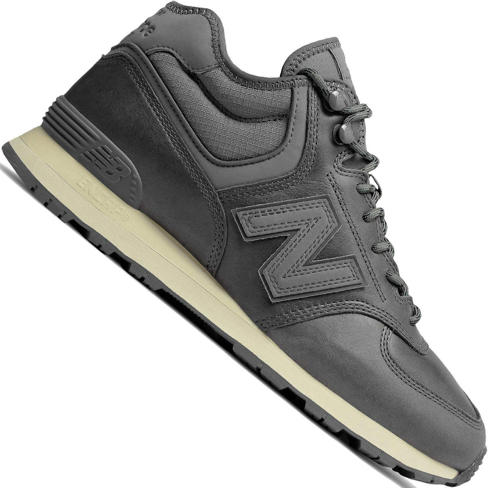 New Balance Balance Balance 574 Metà pelle shoes Inverno men da Ginnastica in Hi-Top Nuove 544d16