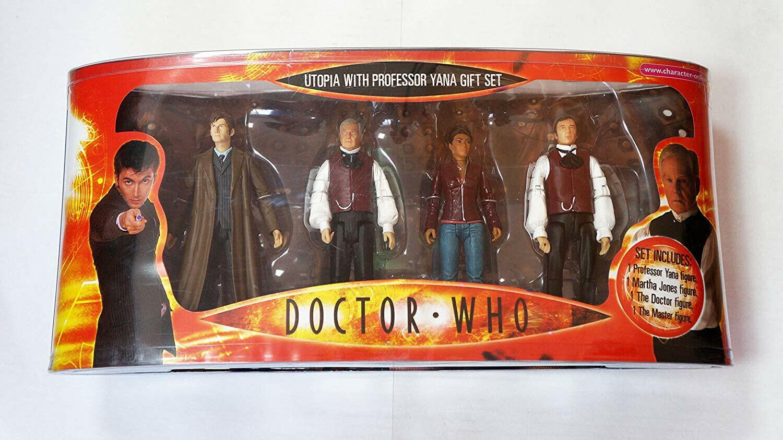 Doctor Who Utopia Box Set With Professor Yana,Martha Jones,The Doctor and Master