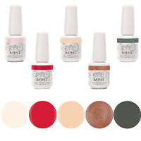 Gelish Mini 5 Bottle Soak Off Gel Nail Polish Collection Pack Set Package, 9ml on Sale