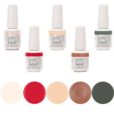 Gelish Mini 5 Bottle Soak Off Gel Nail Polish Collection Pack Set Package, 9mL