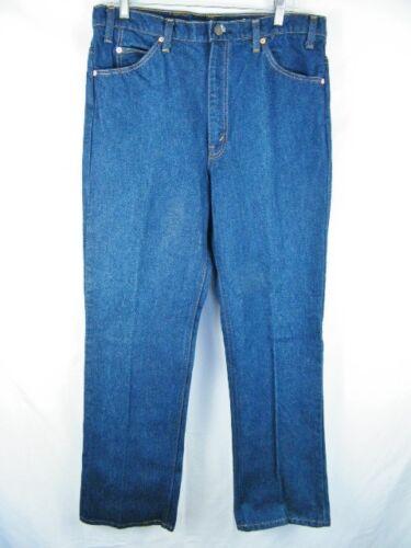 États Unis Tab 517 Orange Boot Vintage 36x32 aux Jeans Flare Fabriqué Denim Blue Levi's Cut 6RwpqO