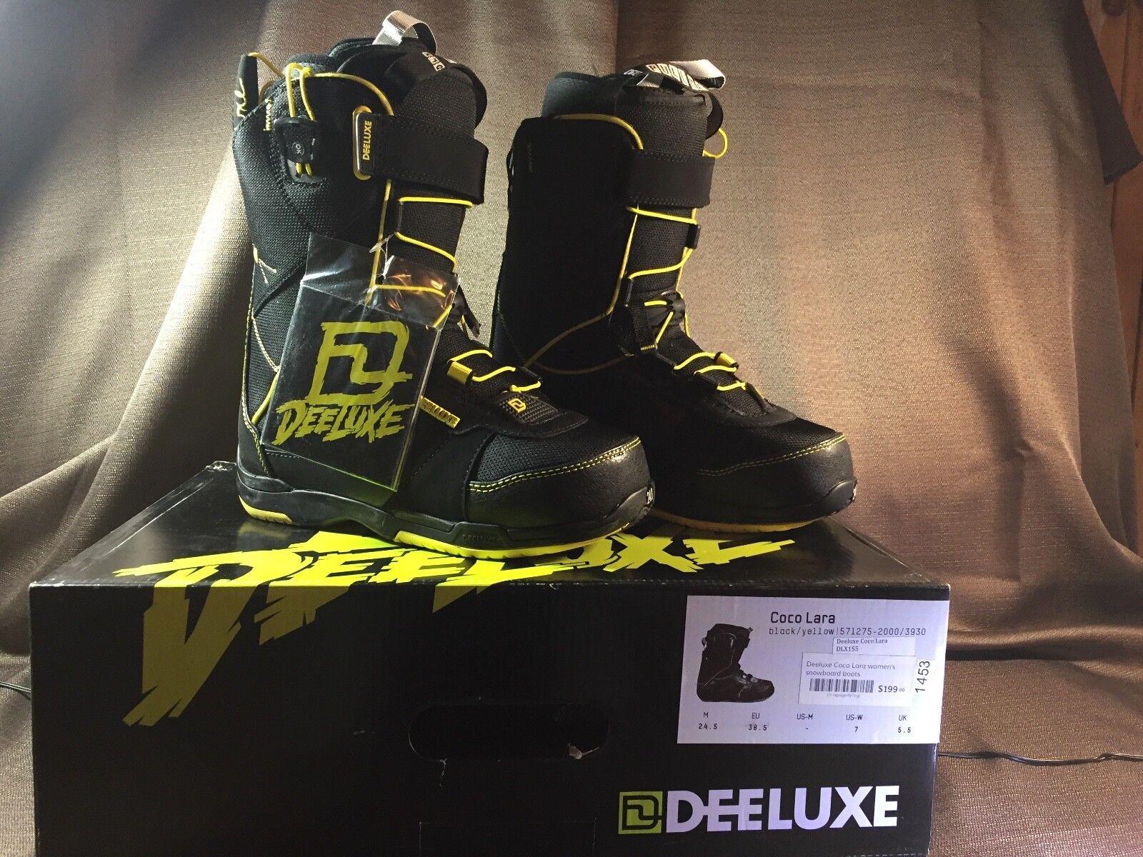 Deeluxe Women's Coco Lara snowboard boots Size 7 New in box