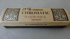 Yamaha 1200 Chromatic Harmonica Incl Box