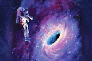Details About P186 Art Decor Astronaut Space Psychedelic Trippy Colorful Abstract Silk Poster