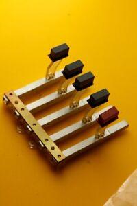 REVOX A77 MKI Reel Parts Original LOT Button Board Face Plate Push Red Grey