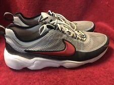 7204a6e22dc1 Nike Zoom Spiridon Ultra Metallic Silver Desert Red 876267-001 Size ...