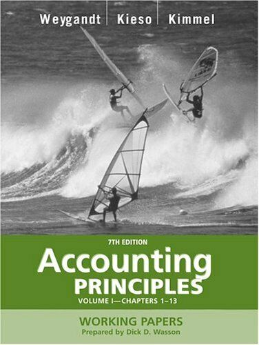 Accounting Principles Vol. 1 by Weygandt, Jerry J.