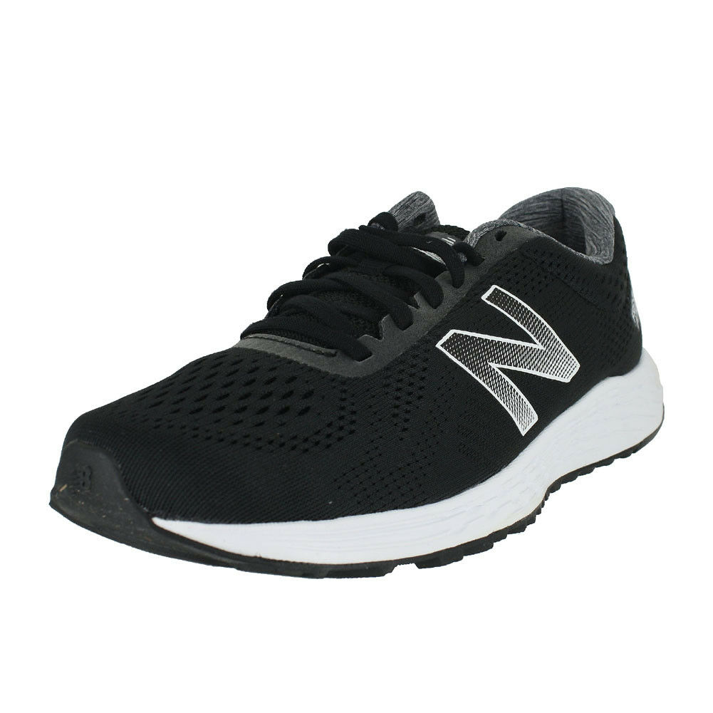 NEW BALANCE ARISHI FRESH FOAM BLACK WHITE MARISSB1 D MENS US SIZES