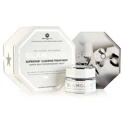 GlamGlow SuperMud Clearing Treatment Super Mud Skin Deep Cleansing Mask #7052