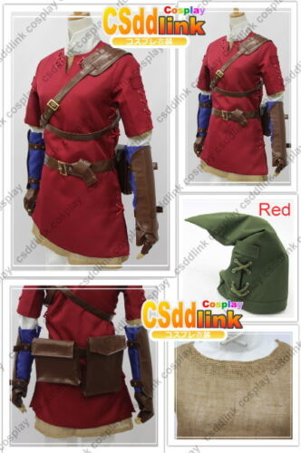 Legend of Zelda - Twilight Princess Red Link Cosplay Costume