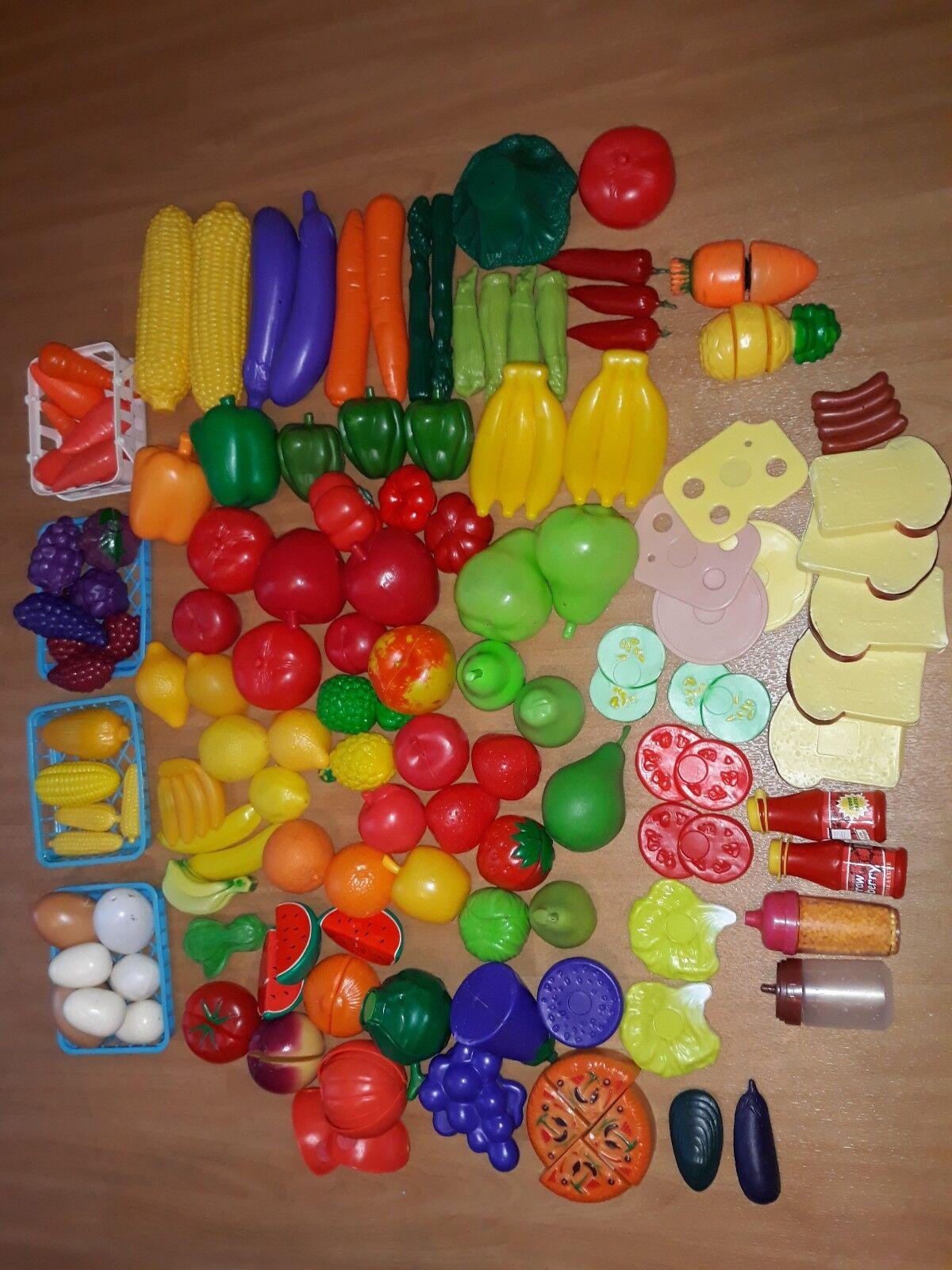Kaufladen Zubehör, Zubehör für Kinder Küche - Obst und Gemüse