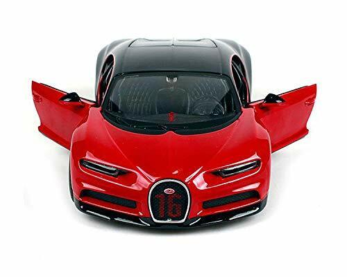 Bugatti Chiron Sport rot//schwarz Maisto Auto Modell 1:24