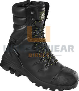 6da7b9e30b8 Details about Rock Fall Monzonite Leather S3 Composite Metatarsal  Protection Safety Boot 6-12