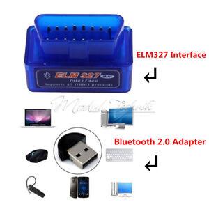 Mini-ELM327-OBD2-II-Bluetooth-Car-Auto-OBD2-Diagnostic-Interface-Scanner-Tool-MT
