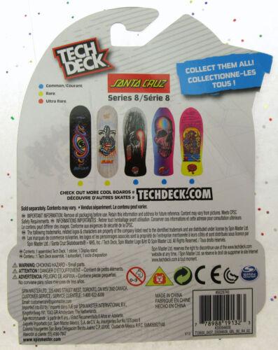Tech Deck ~ Santa Cruz ~ Skateboard ~ Series 8 ~ Skull