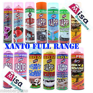 Xanto Cleaning Mousse Bathroom Kitchen Oven Carpet