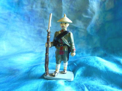 Soldat de plomb CBG Hachette - Fantassin annamite  N°8  Toy soldiers 14/18