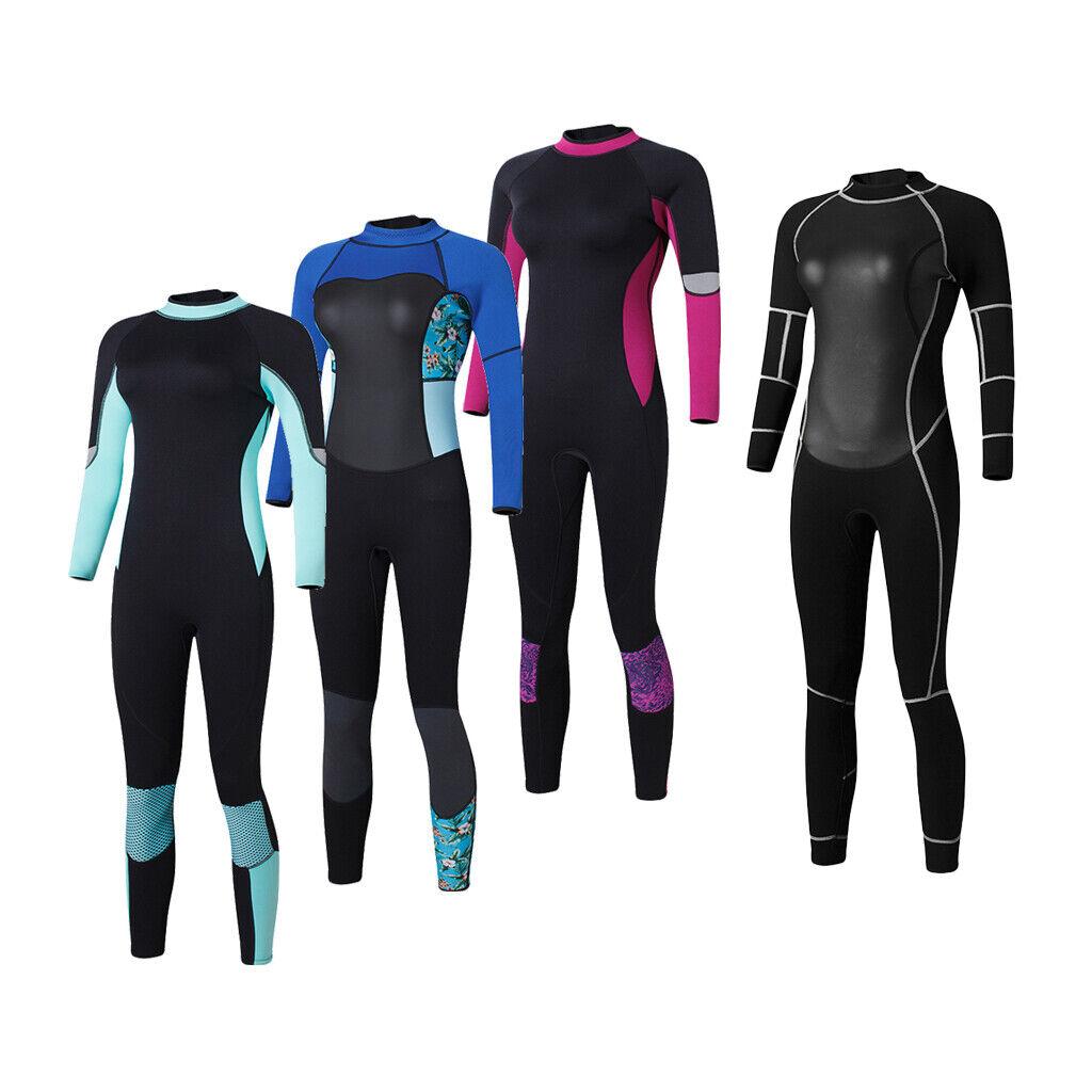 1.5mm Ladies Womens Full Wetsuit Surf Swim Kayak Canoeing Bodyboard Sailing
