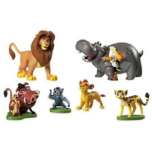 Disneystore Lion Guard King Figure Play Set Cake Topper