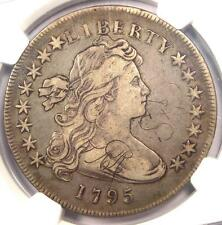 1795 Draped Bust Silver Dollar ($1 Coin, Small Eagle, BB-51 B-14) NGC VF Details