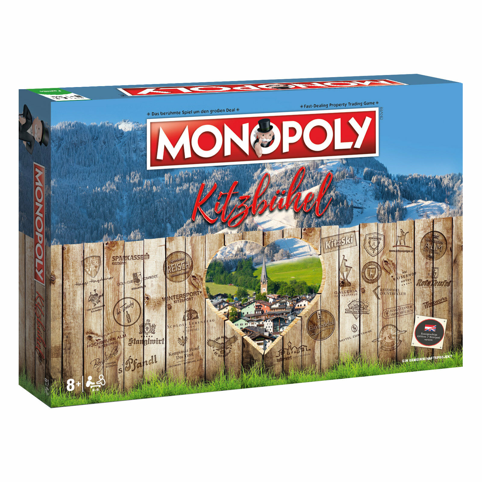 Monopoly kitzbühel city game stadtedition Edition Board Game Board Game