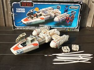1999-Kenner-STAR-WARS-Y-Wing-Fighter-Vehicle-Rebel-Alliance-Star-Ship-Boxed-Toy