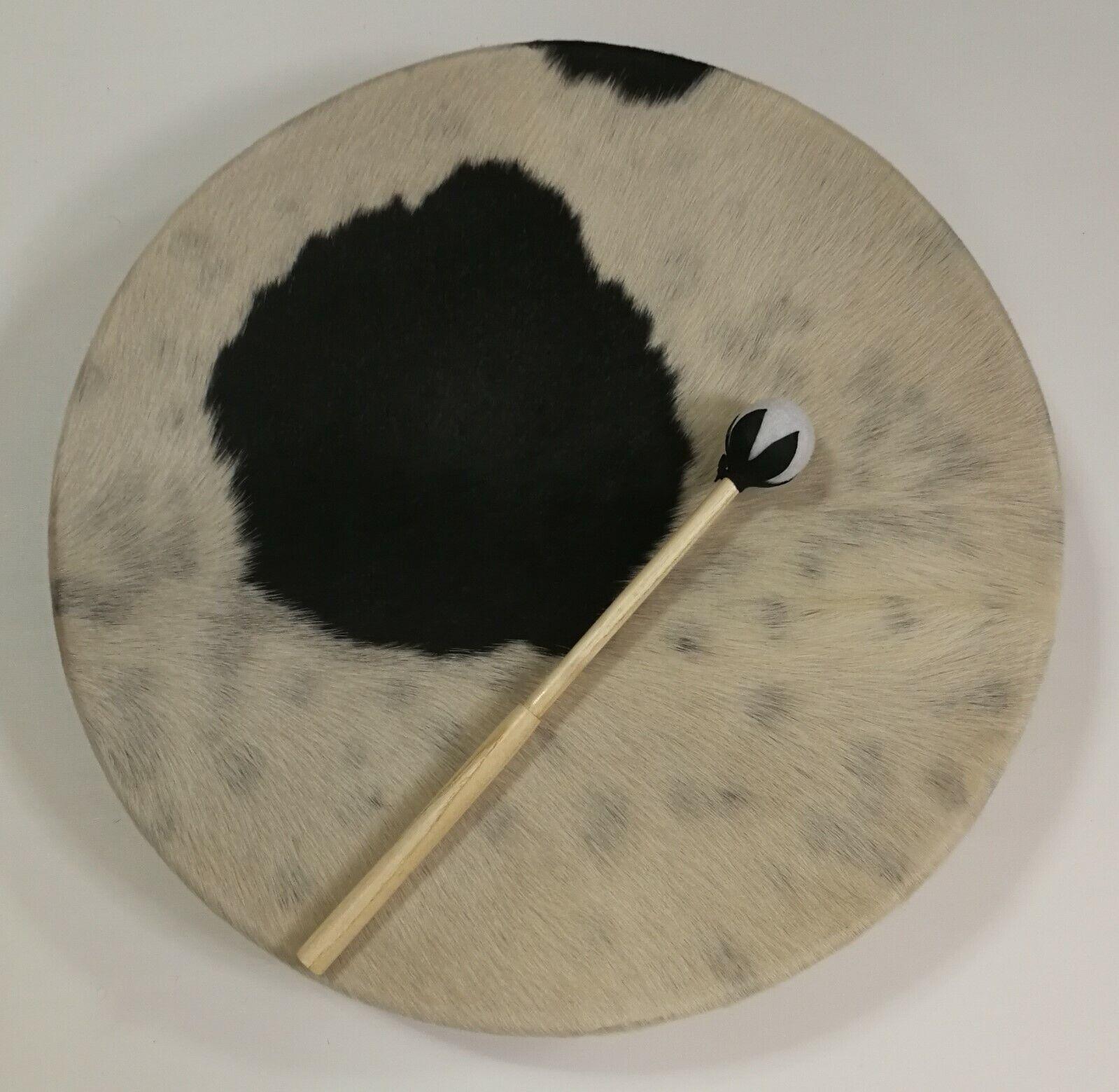Schamanentrommel   Shamanic Drum, 50 x 7,5 cm, inkl. 1 Schläger, Handarbeit