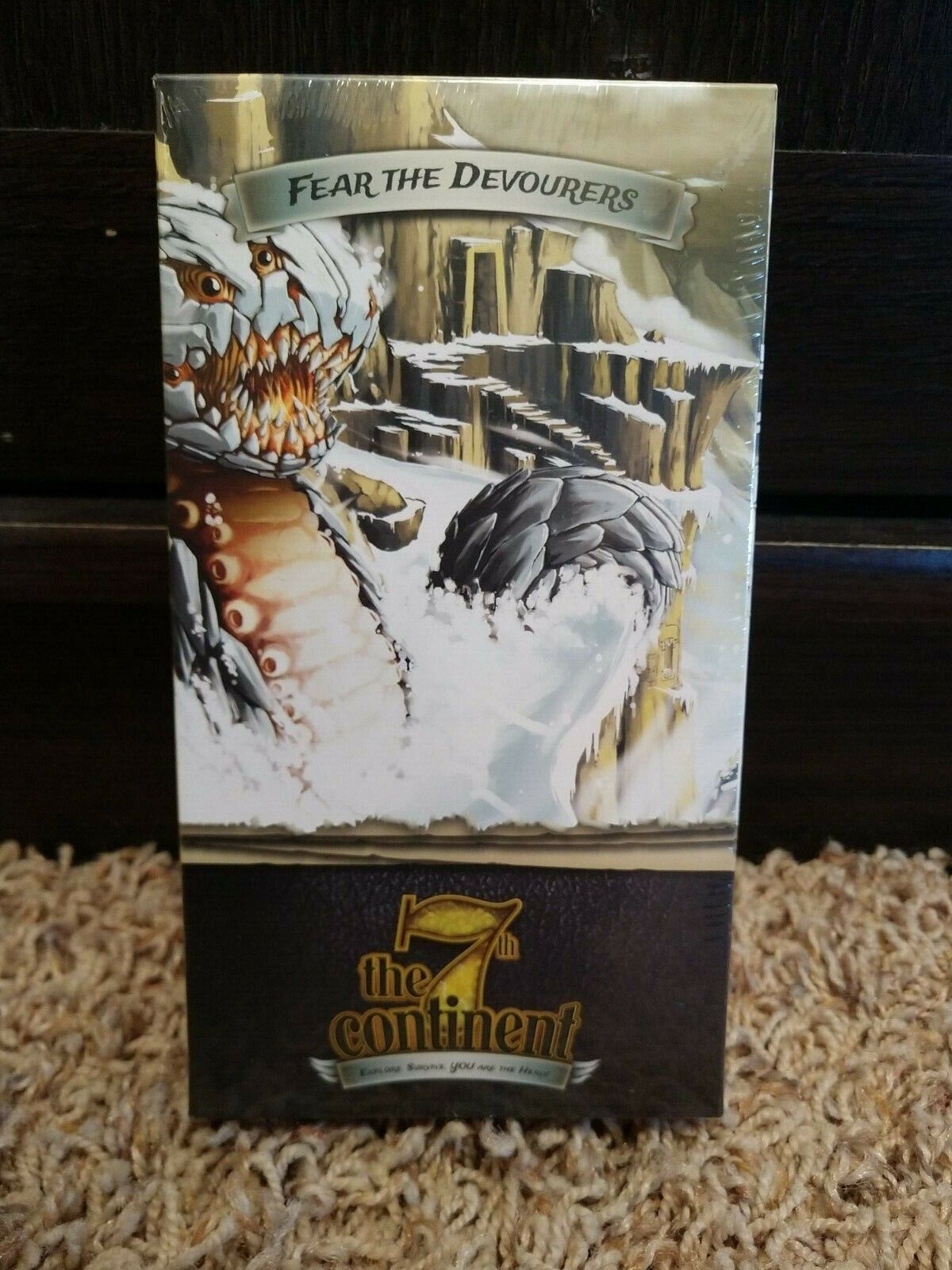 The 7TH CONTINENT Board Game Fear the Devourers Kickstarter Expansion - NEW